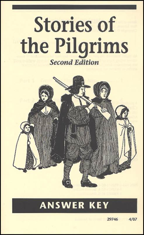 Stories of the Pilgrims Answer Key