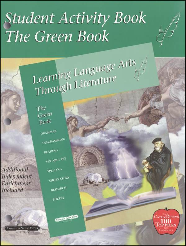 Learning Language Arts Through Literature Green Student Book
