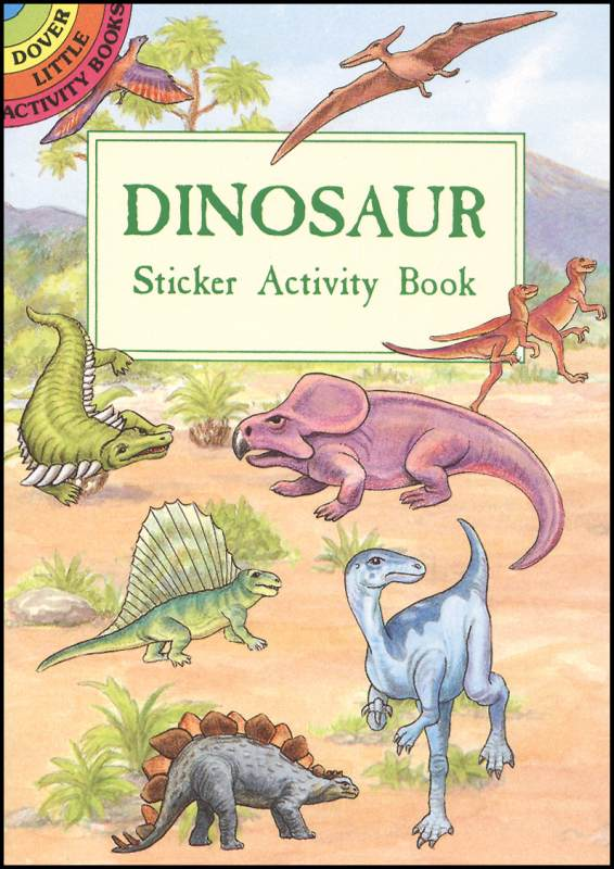 Dinosaurs Small Format Sticker Activity Book