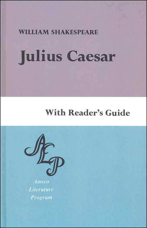 Julius Caesar with Reader's Guide