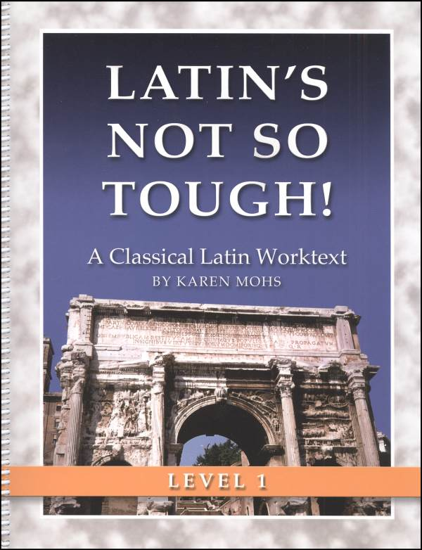 Latin's Not So Tough Level 1 Workbook