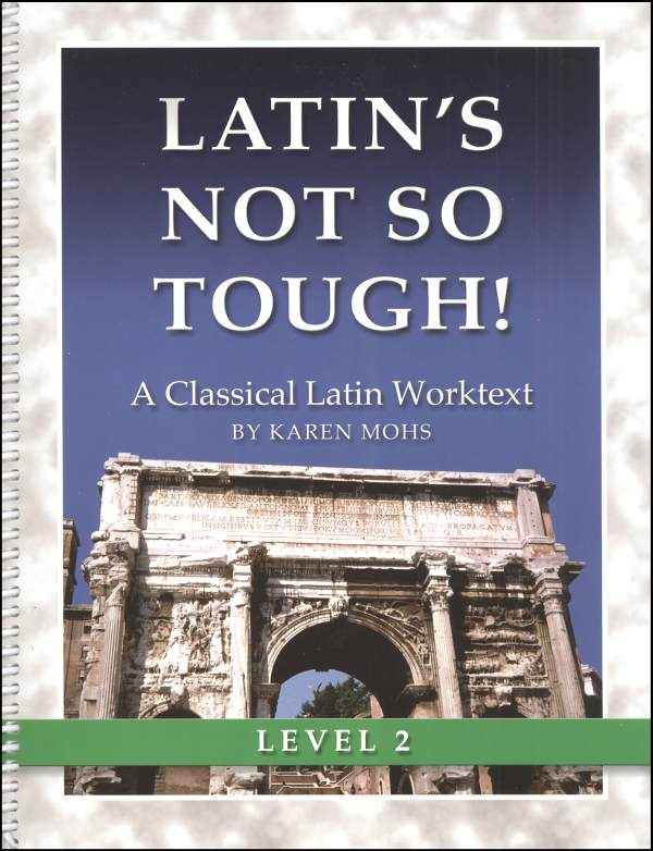 Latin's Not So Tough Level 2 Workbook