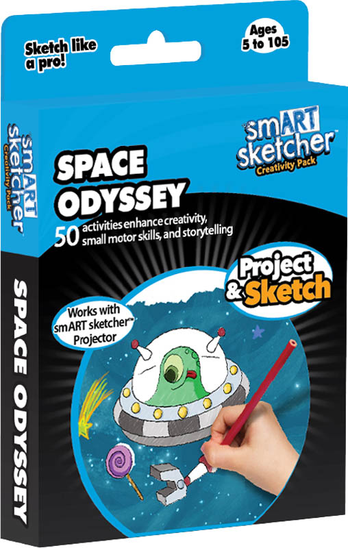 smART Sketcher Creativity Pack Space Odyssey
