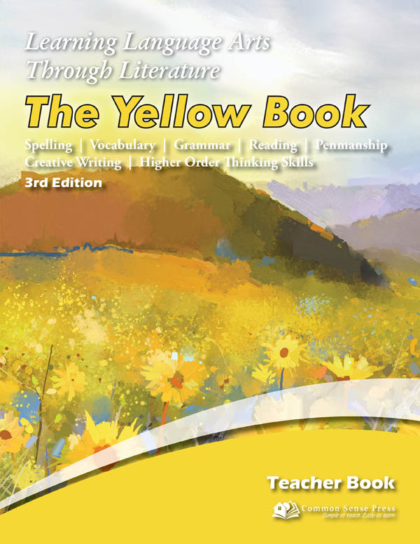 Learning Language Arts Through Literature Yellow Teacher Book (3rd Edition)