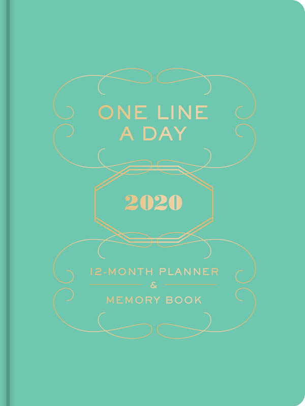 One Line a Day 2020 12-mo Planner & Memory Bk