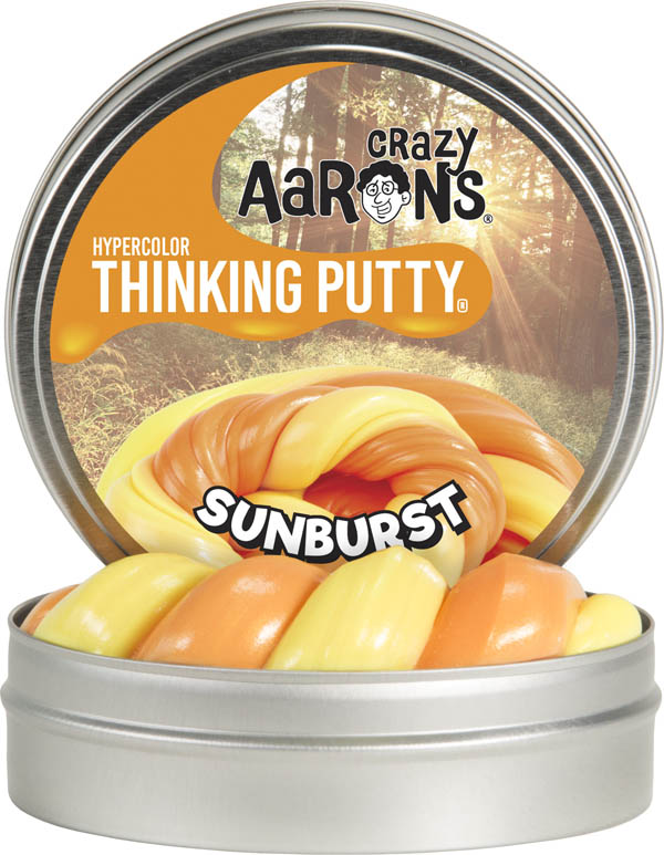 Sunburst Putty - Large Tin (Heat Sensitive Hypercolors)