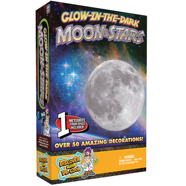 Glow-in-the-Dark Moon & Stars (Glow-in-the-Dark Planets & Stars)