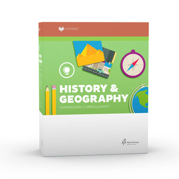 History 1 Lifepac Complete Boxed Set