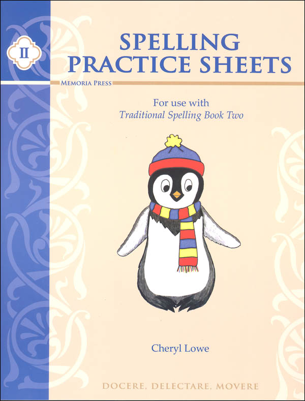 Traditional Spelling Practice Sheets II