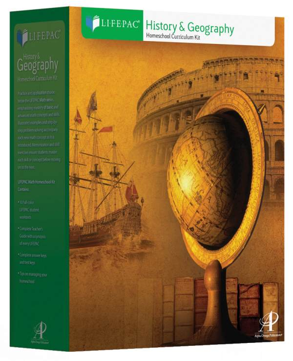 History 3 Lifepac Complete Boxed Set