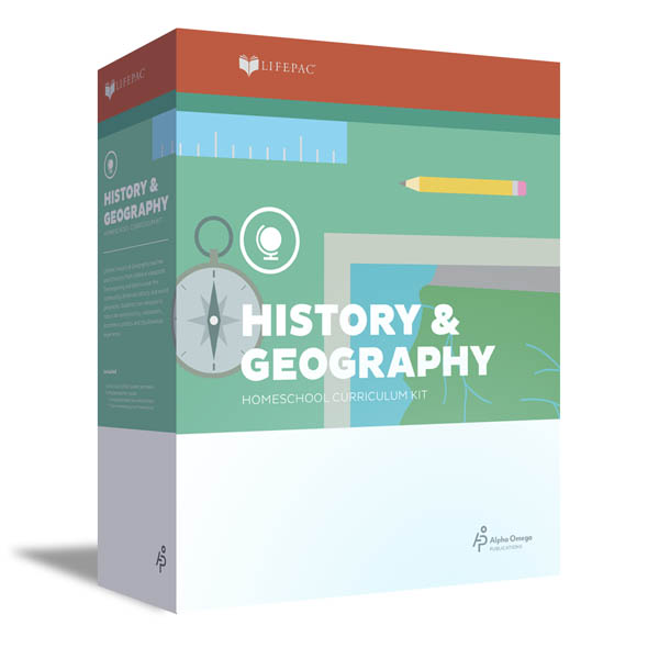 History 4 Lifepac Complete Boxed Set