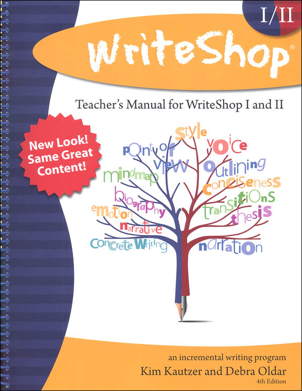 WriteShop: Incremental Writing Program Teacher Manual (for Workbooks 1 & 2)