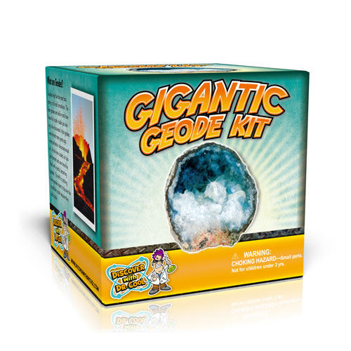 Gigantic Geode Kit (1 Gigantic Geode)