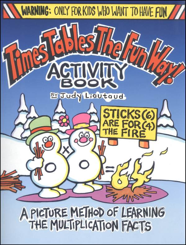 Times Tables the Fun Way Activity Book
