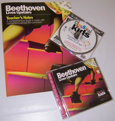Beethoven Lives Upstairs CD & Tchr Notes