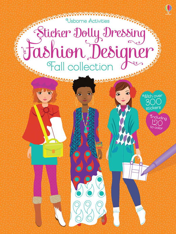 Sticker Dolly Dressing Fashion Designer Fall Collection (Usborne Activities)