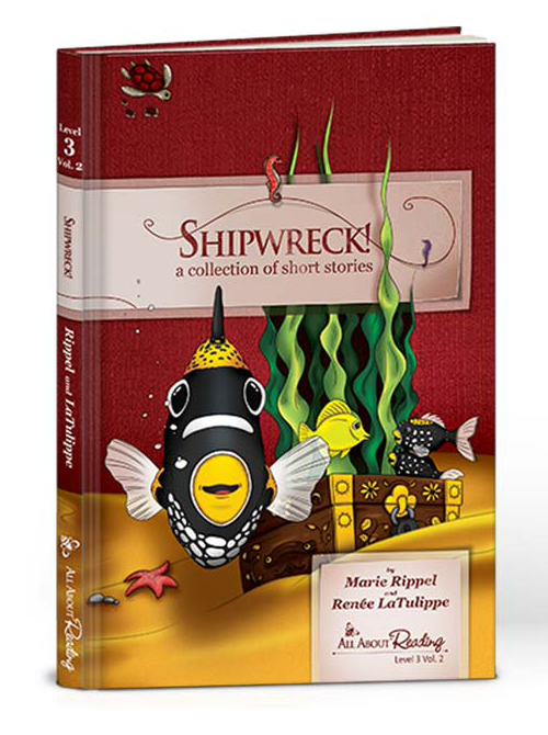 Shipwreck!: Collection Short Stories (Level 3) (black & white)