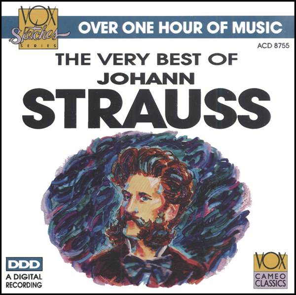 Best of Johann Strauss CD