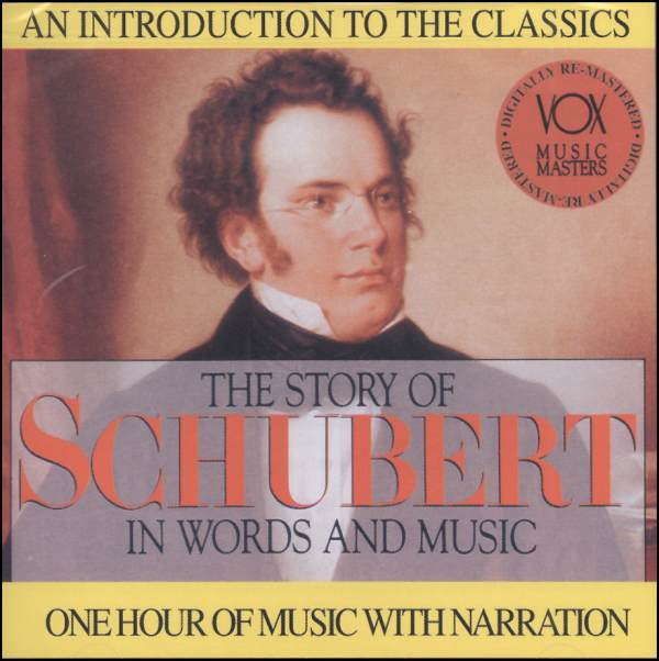 Story of Schubert in Words and Music CD
