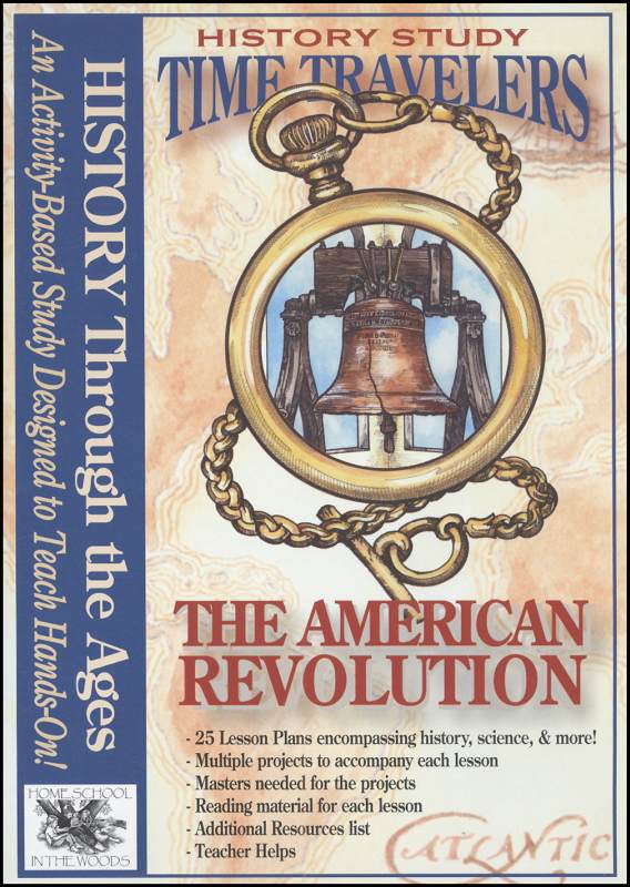 Time Travelers History Study CD: American Revolution