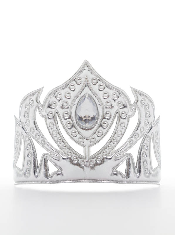 Ice Princess Soft Silver Crown