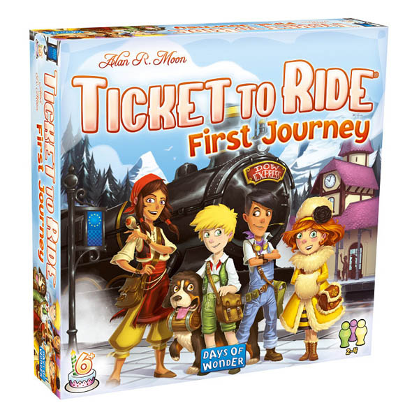 Ticket to Ride First Journey: Europe Game