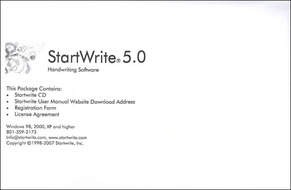 Start Write Software 5.0 (Windows) CD-ROM