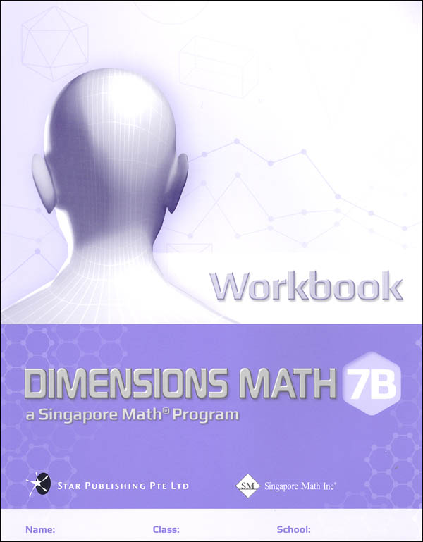 Dimensions Mathematics Common Core State Standards Workbook 7B