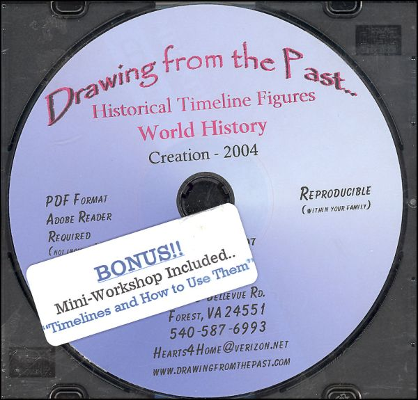 Drawing From Past:World History Figures on CDs