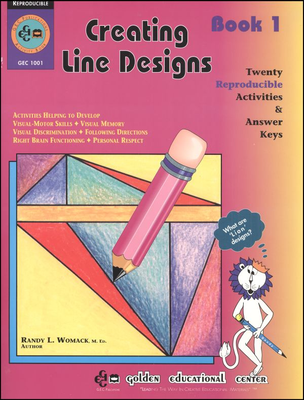 Creating Line Designs - Book 1