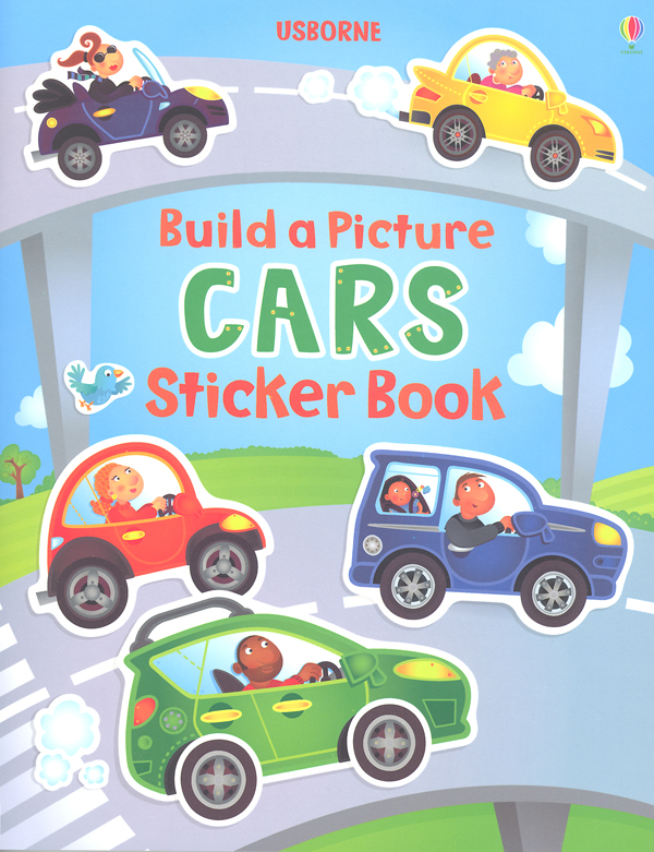 Build a Picture CARS Sticker Book