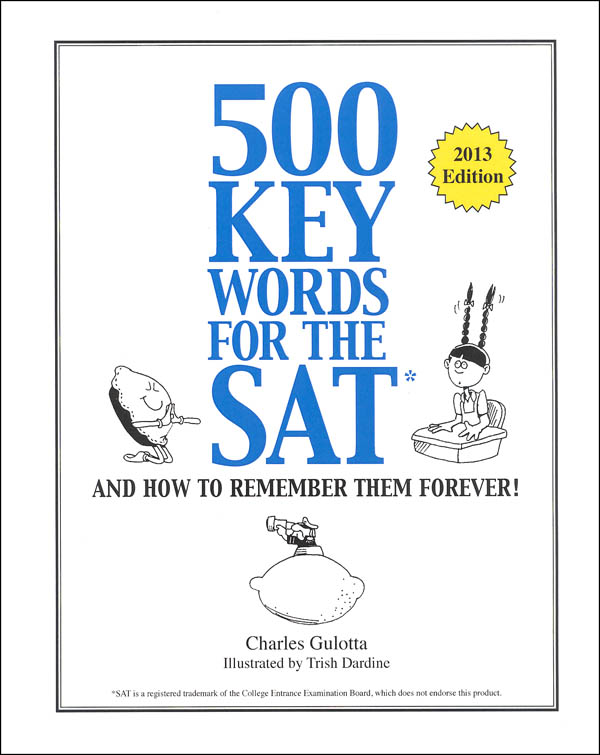 500 Keywords for SAT & How to Remember Them