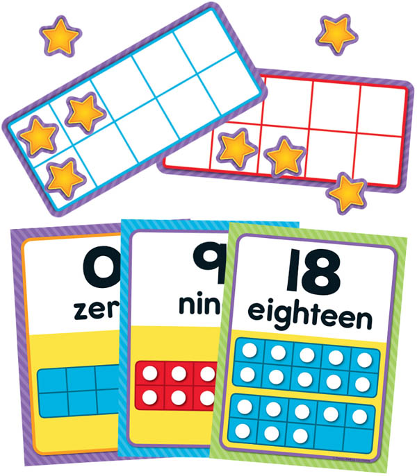 Numbers 0-20 Bulletin Board Set