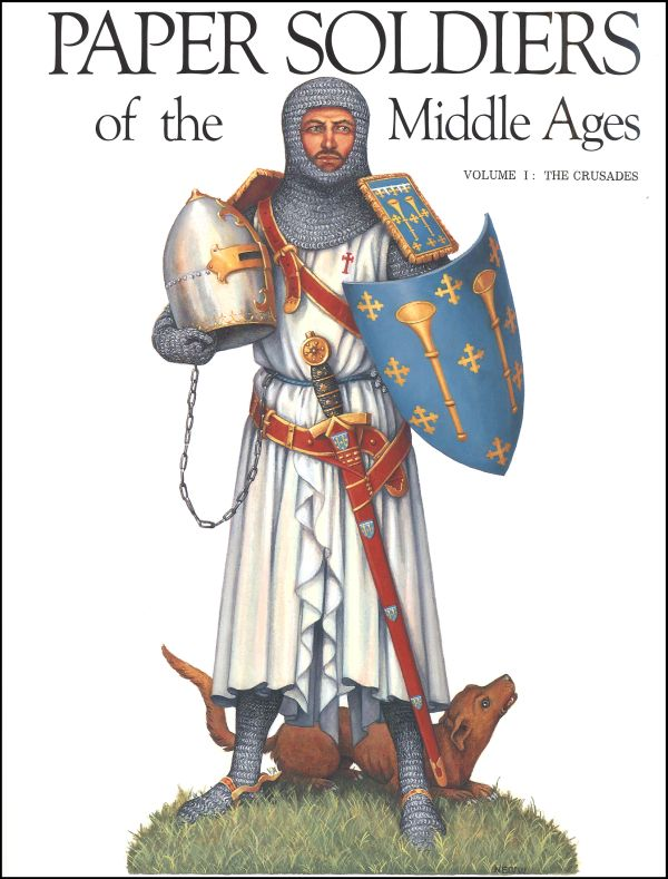 Paper Soldiers of Middle Ages V1 - Crusades
