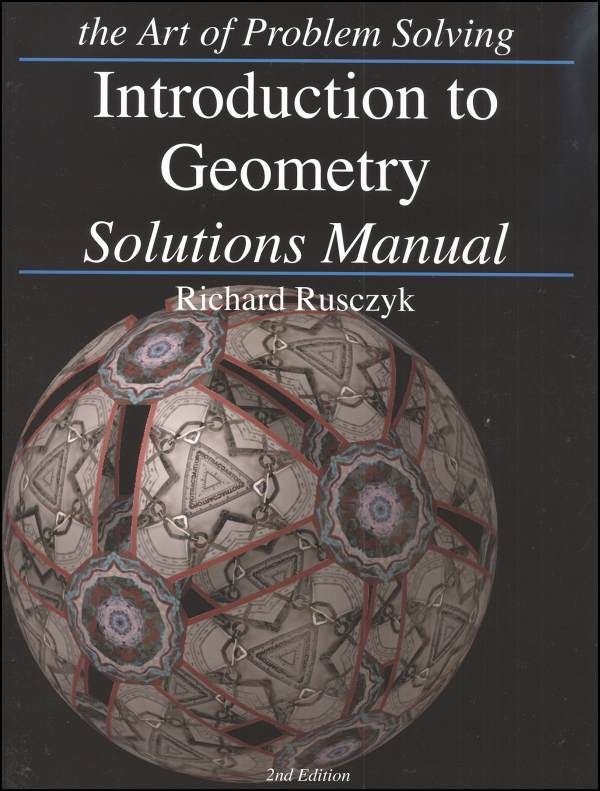 Introduction to Geometry Solutions Manual
