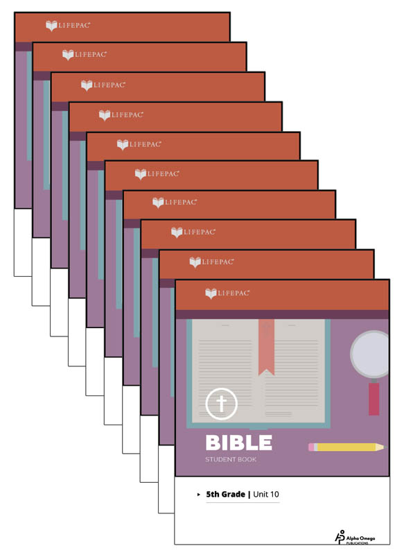 Bible 5 Lifepacs Only