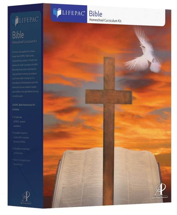 Bible 6 Lifepac Complete Boxed Set