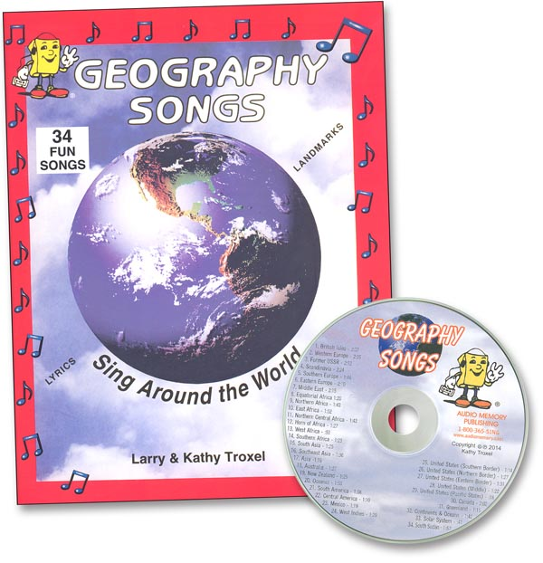 Geography Songs Kit w/ CD