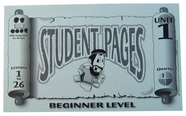 Beginner Student Pages for Lessons 001-26