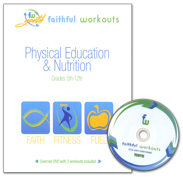 Physical Education & Nutrition Workbook & DVD