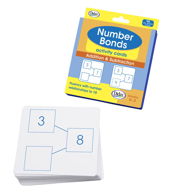 Number Bonds Activity Cards: Add & Subtract