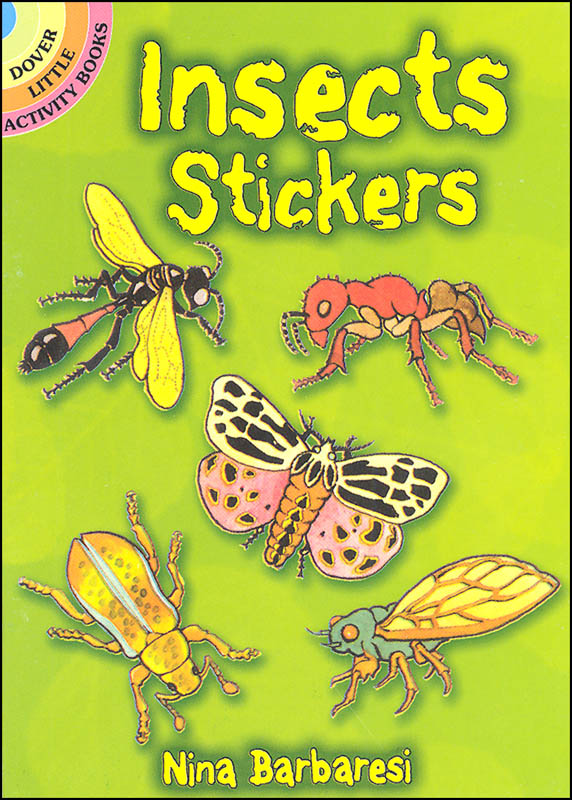 Insects Stickers (realistic)