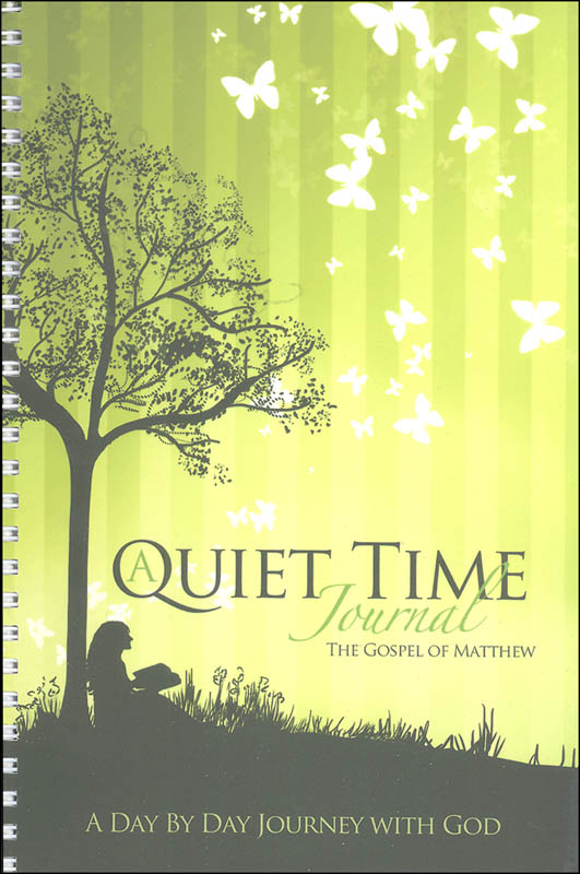 Quiet Time Journal - Gospel of Matthew (Green