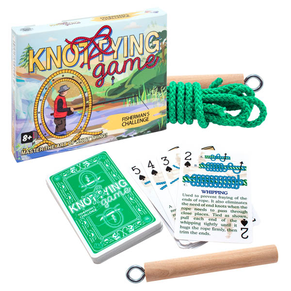 Knot Tying Fisherman's Travel Edition (Medium)