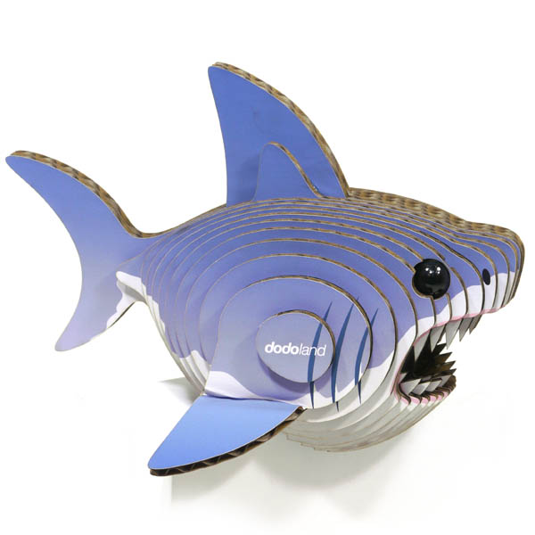 Eugy 3D Shark Dodoland Model