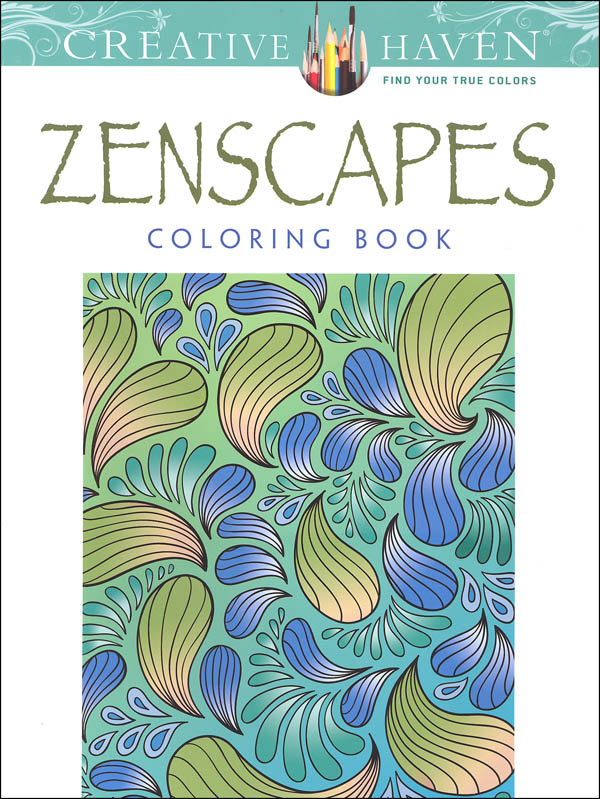 Zenscapes (Creative Haven Coloring Books)