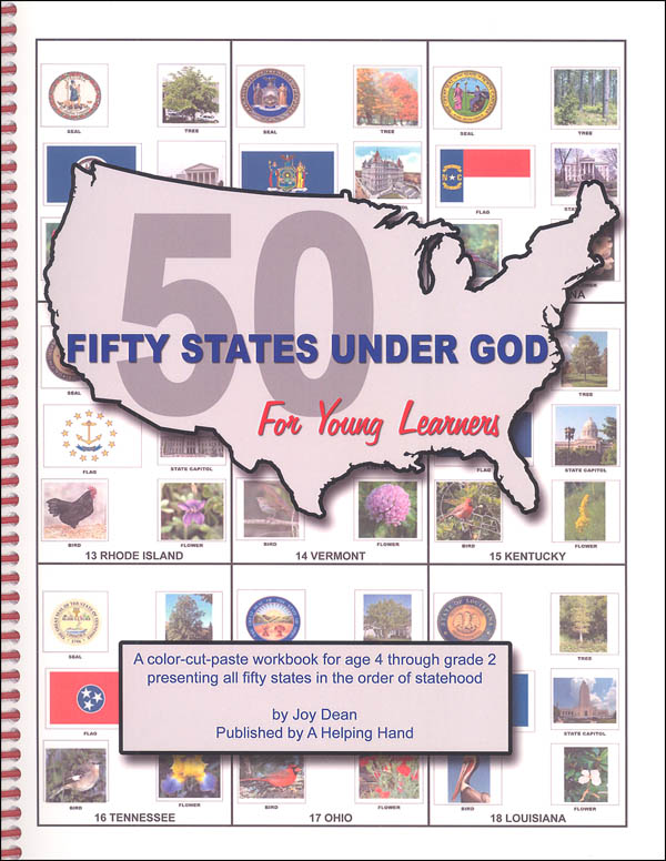 Fifty States Under God for Young Learners