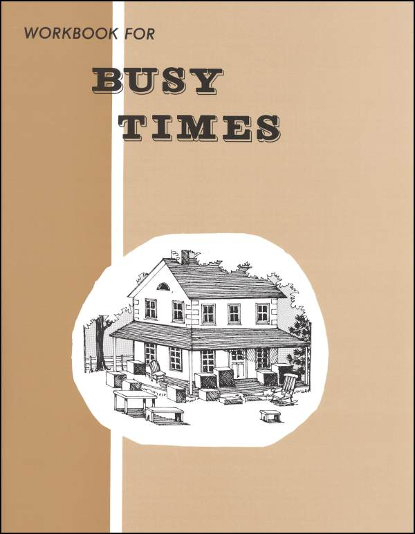 Busy Times Workbook