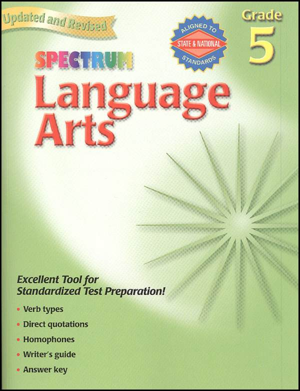 Spectrum Language Arts Grade 5