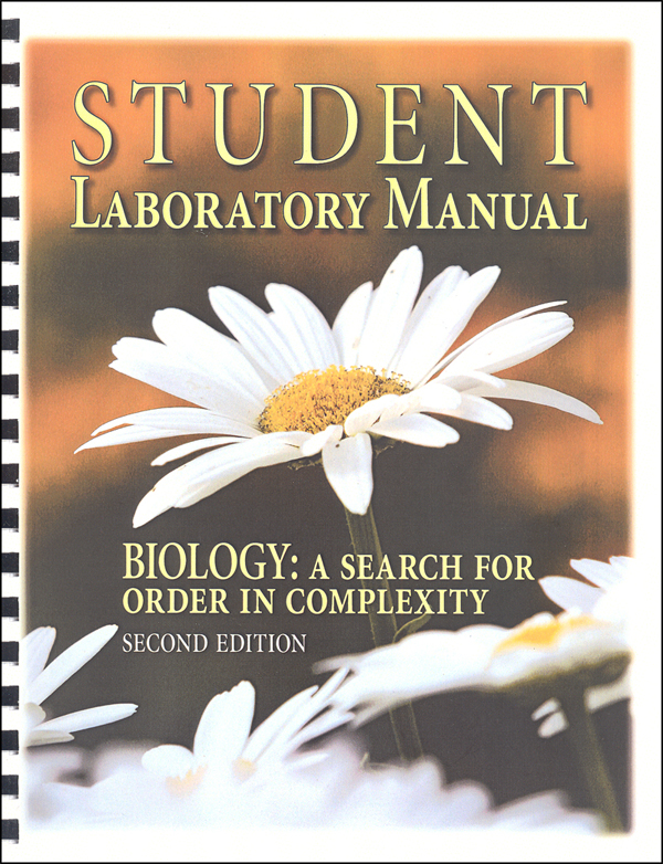 Biology: A Search for Order Student Lab Manual